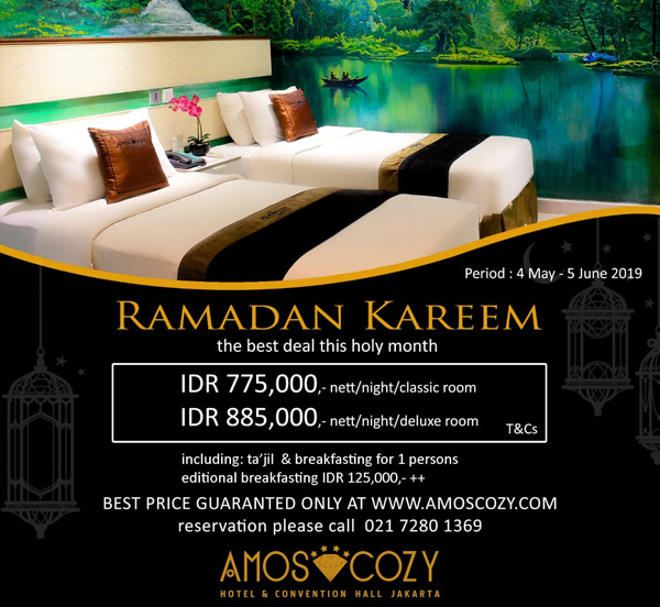 Jakarta Hotel - Amos Cozy Hotel & Convention Hall - Official